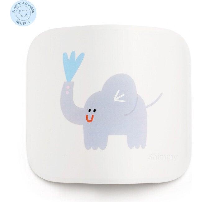 Shimmy x Maisonette Sanitizing Station Faceplate, White Elephant