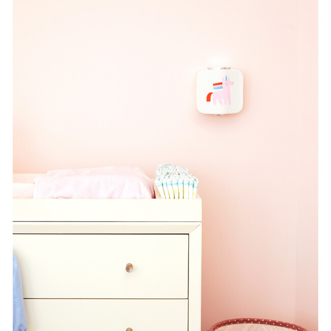 Shimmy Home Bundle, White With Unicorn Faceplate