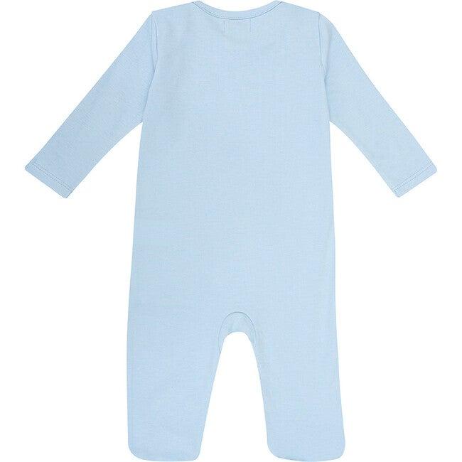 Pima Cotton Onesie, Baby Blue