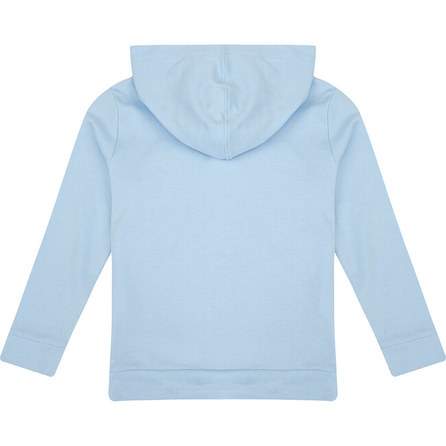 Pima Cotton Hoody, Baby Blue
