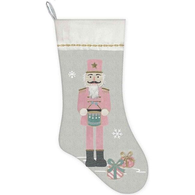 Nutcracker Stocking, Pink