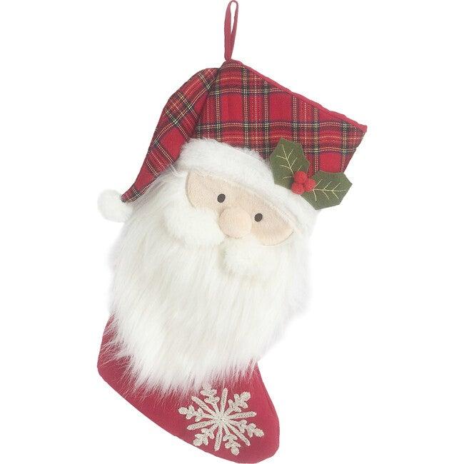 Tartan Santa Stocking