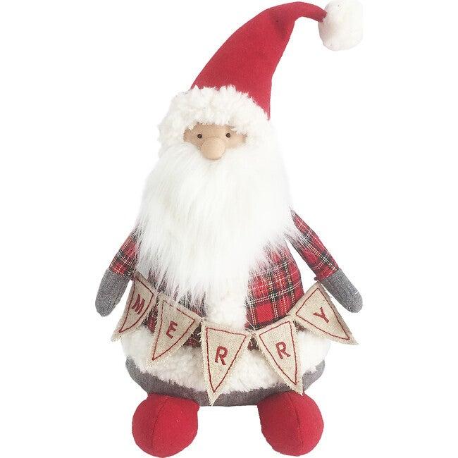Tartan Santa Shelf Sitter