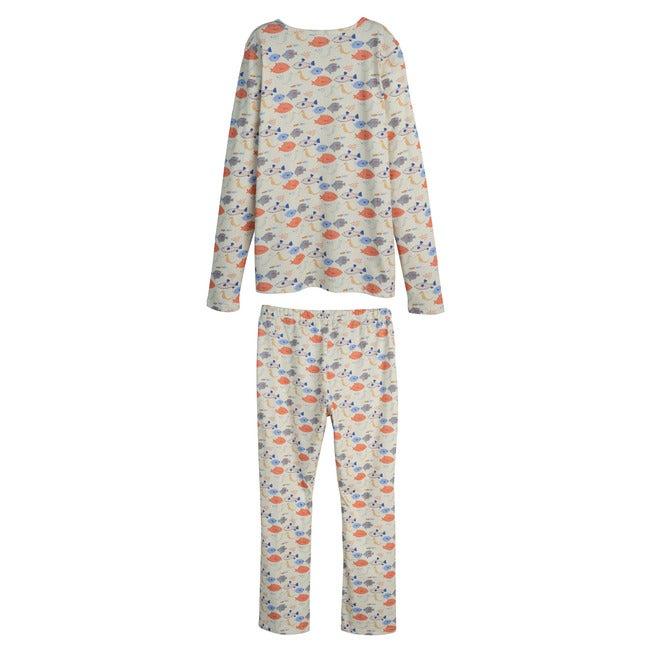 Women's Eliza Pajama Set, Kissing Fish