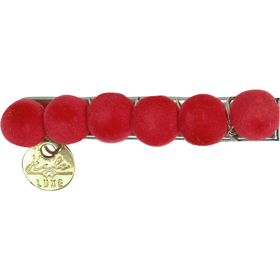 Joy Clip 2-Pack, Red - Hair Accessories - 1