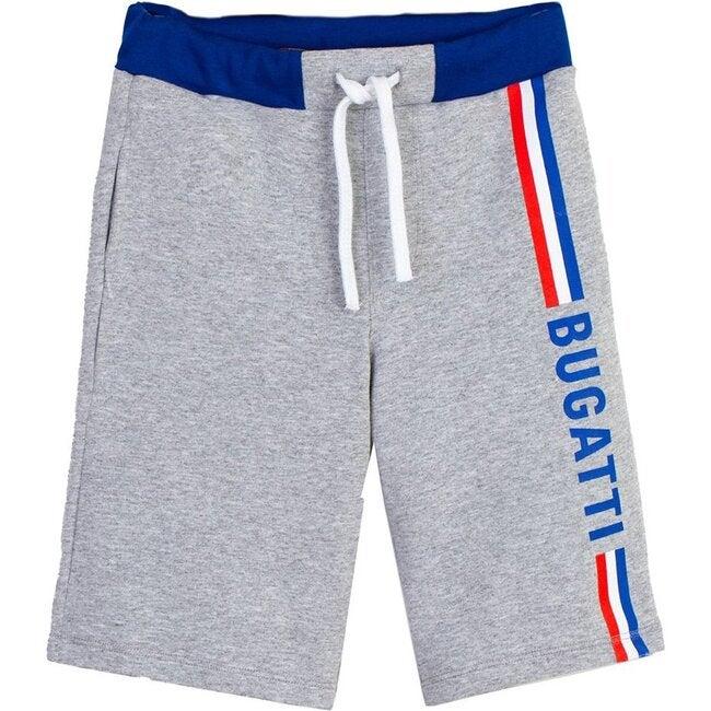 Side Logo Shorts, Gray