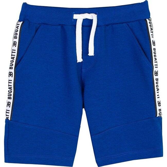 Strip Logo Shorts, Blue