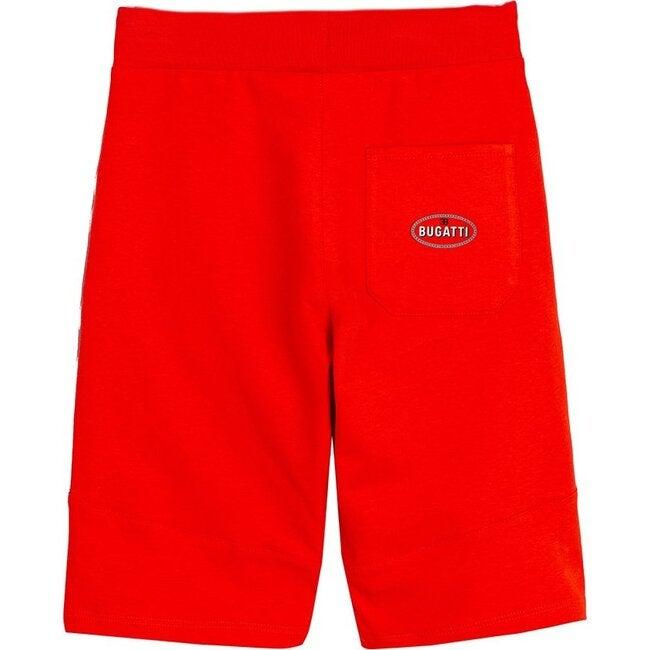 Logo Tape Shorts, Red