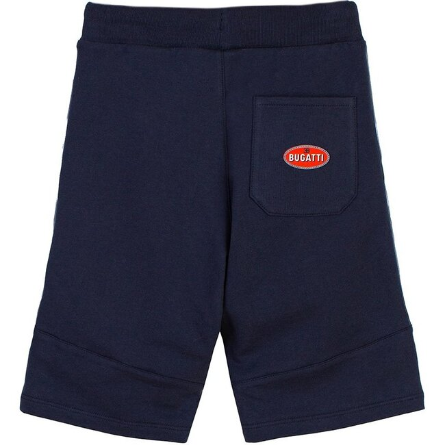 Logo Tape Shorts, Navy