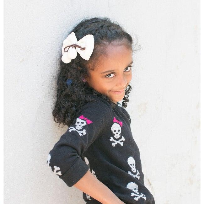 Shaila Hair Clip, Beige