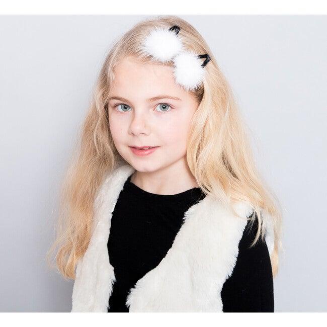 Lisbeth Hair Clip, White
