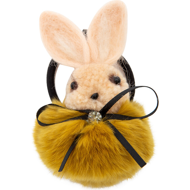 Bonnie the Bunny Hair Tie, Yellow