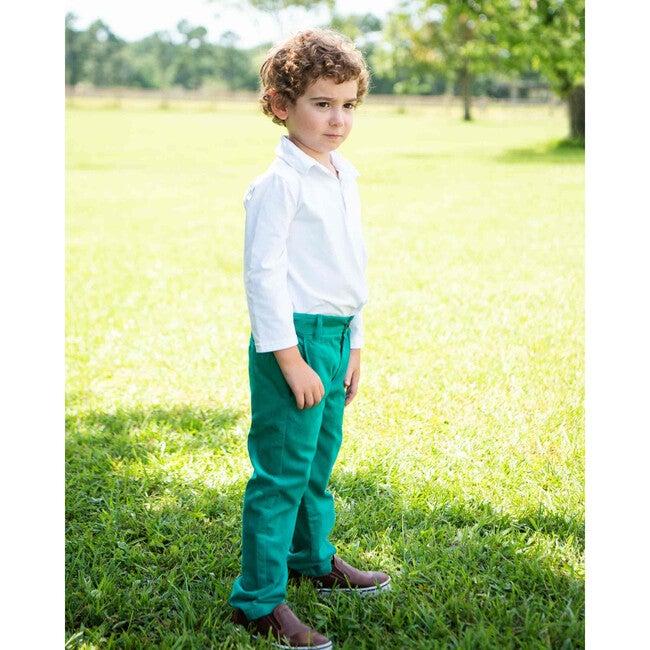 Pants, Emerald Green
