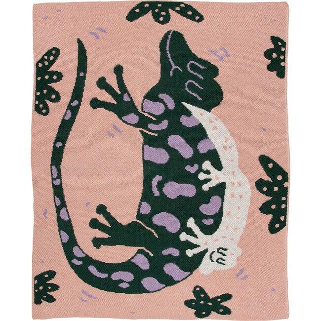 Lounge Lizards Mini Blanket, Multi