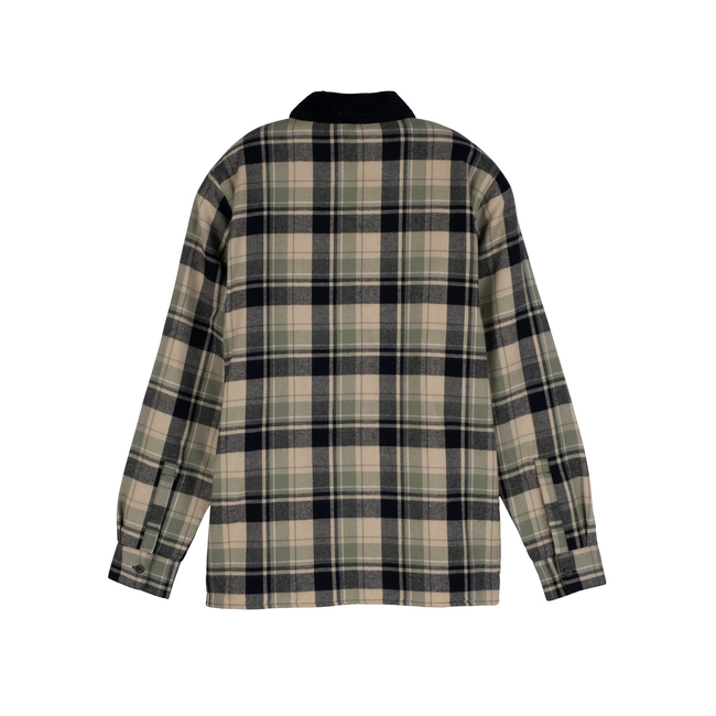 Men's Terrance Sherpa Shirt, Sage Multi