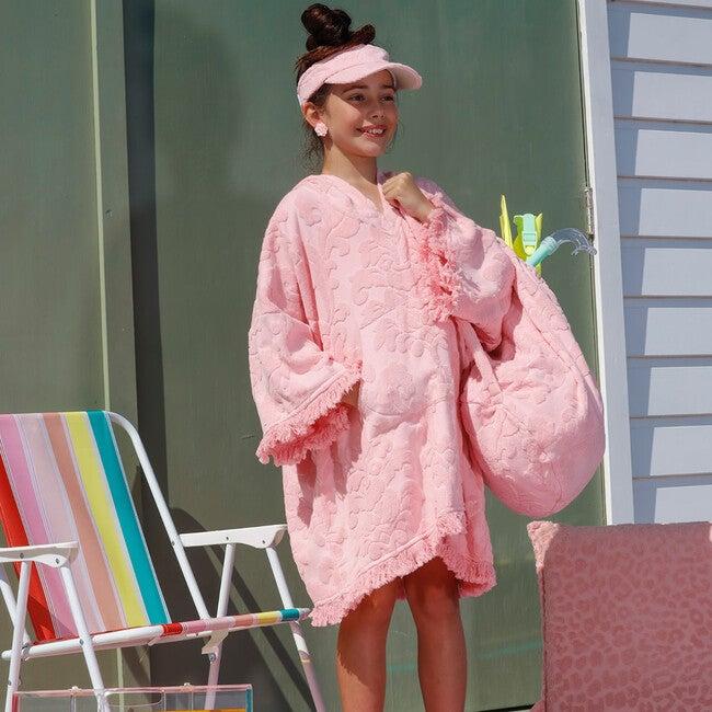 Terry Beach Bag, Pink