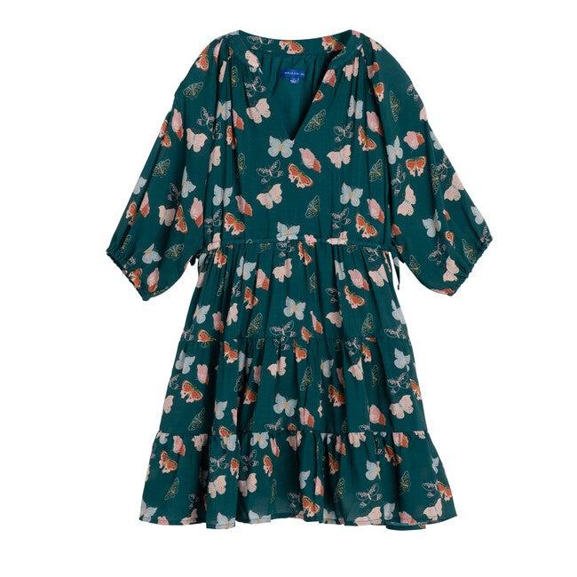 Heidi Dress, Mediterranea Butterflies - Dresses - 1