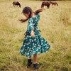Heidi Dress, Mediterranea Butterflies - Dresses - 2