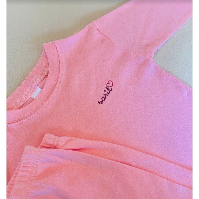 Little Kid Pajama Set, Pink