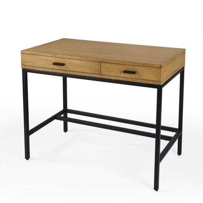 Hans 2-Drawer Writing Desk, Natural