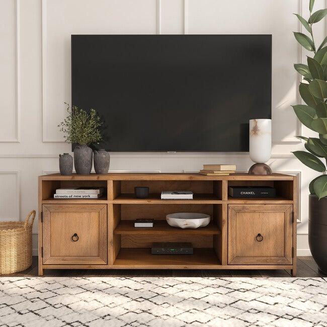Lark TV Stand, Natural Wood