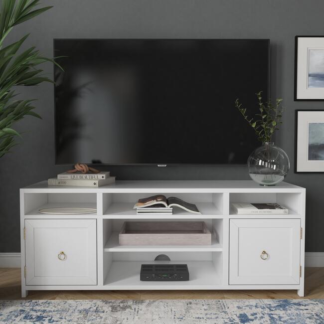 Lark TV Stand, White
