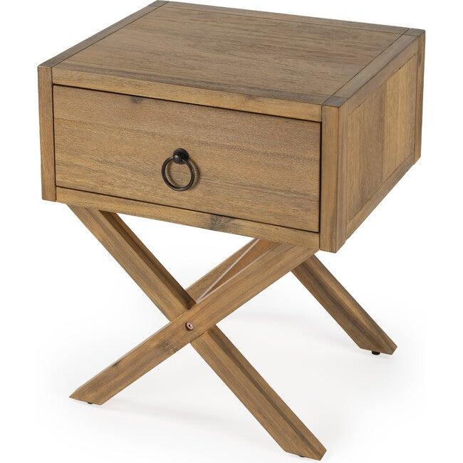 Lark End Table, Natural Wood