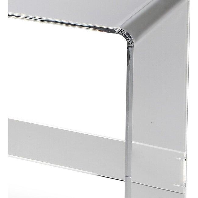Crystal Acrylic Console Table, Clear