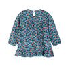 Baby Deja Jersey Dress, Petrol Pansies - Dresses - 2