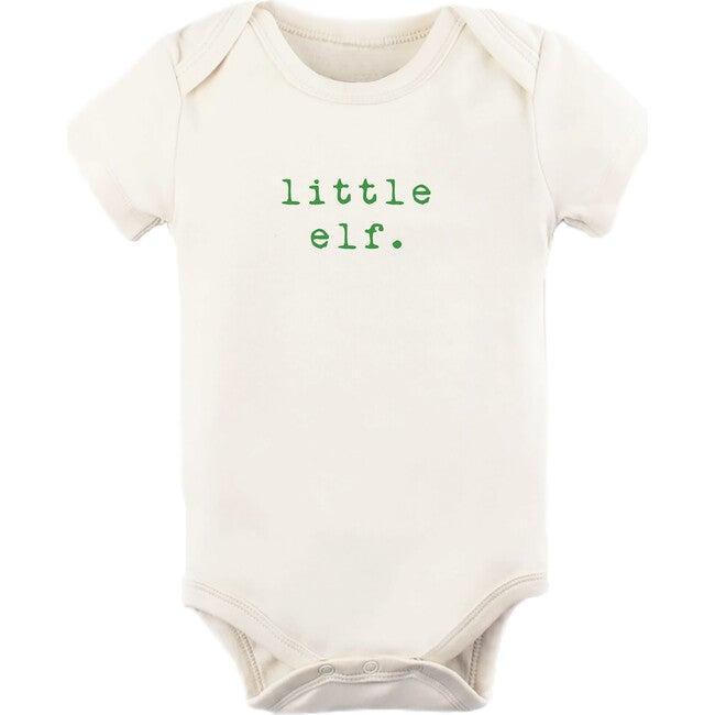 Little Elf Short Sleeve Onesie, Green