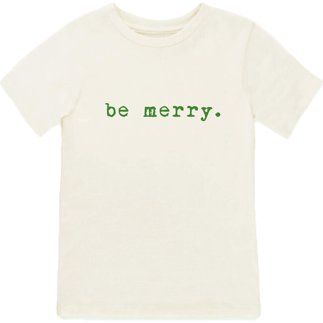 Be Merry Short Sleeve Tee, Green