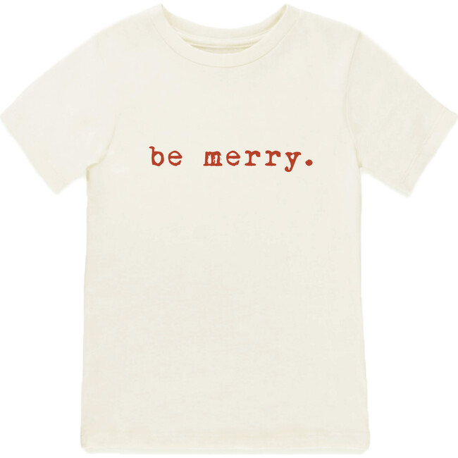 Be Merry Short Sleeve Tee, Red