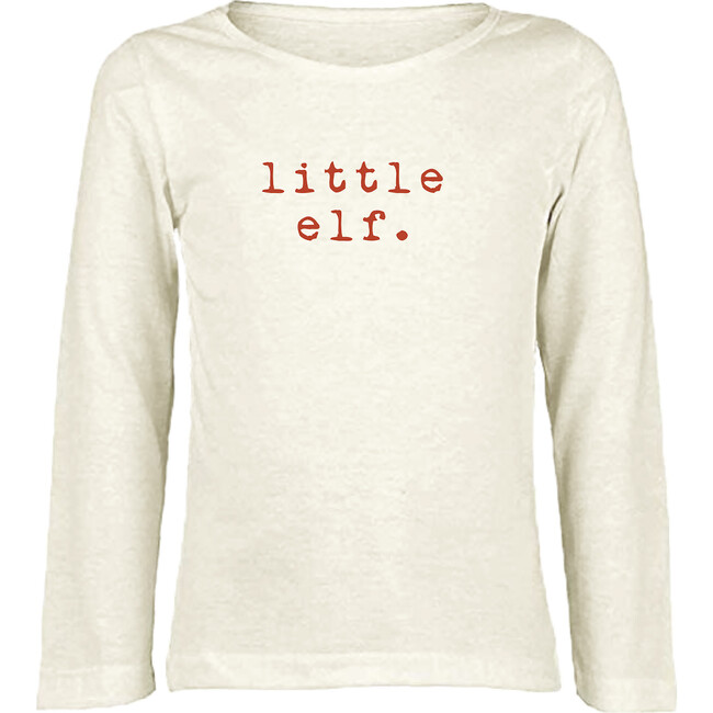 Little Elf Long Sleeve Tee, Red