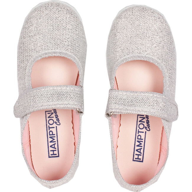 Martha Canvas Sneaker, Silver