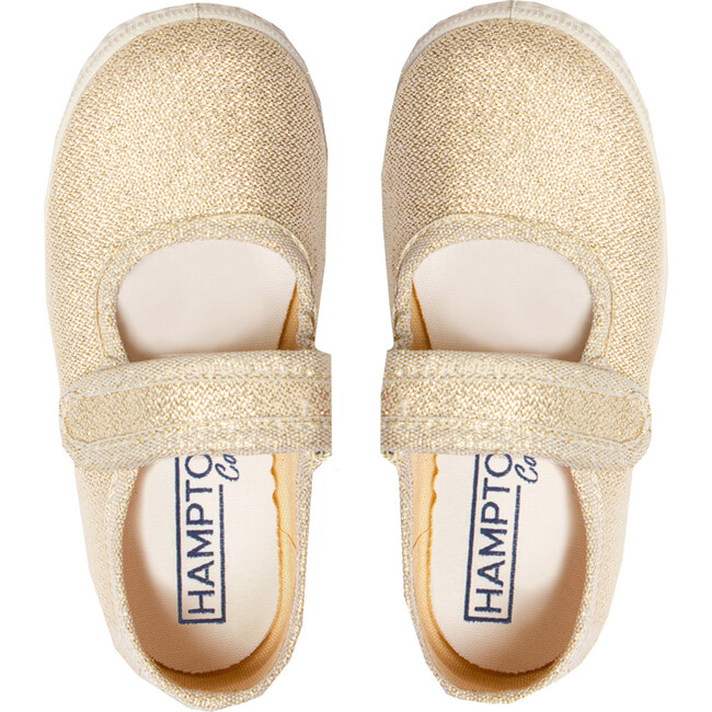 Martha Canvas Sneaker, Gold
