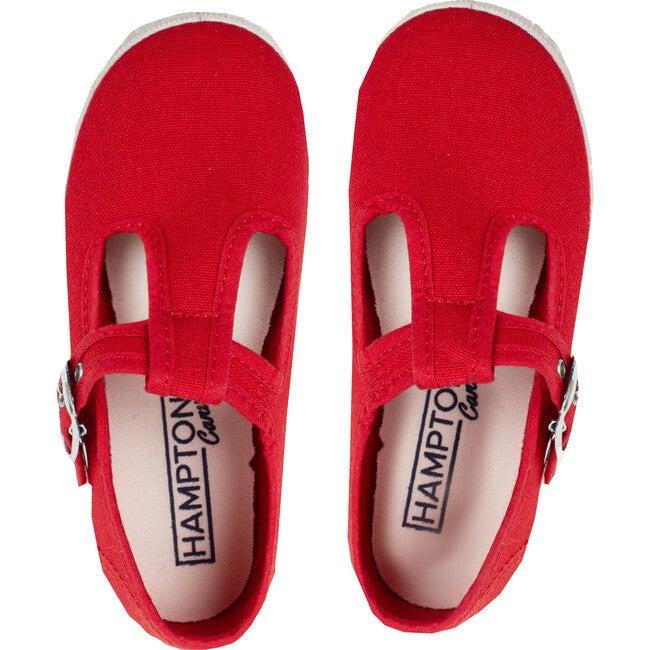 Nantucket Canvas Sneaker, Red