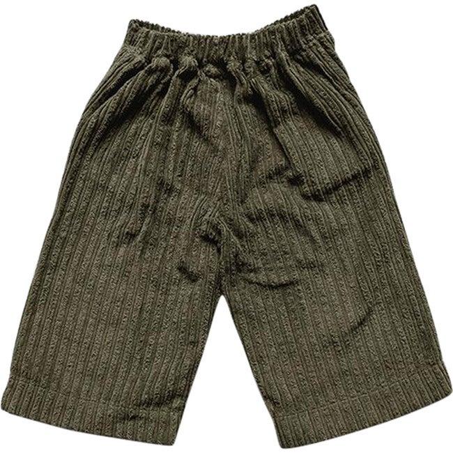 The Vintage Corduroy Utility Trouser, Olive