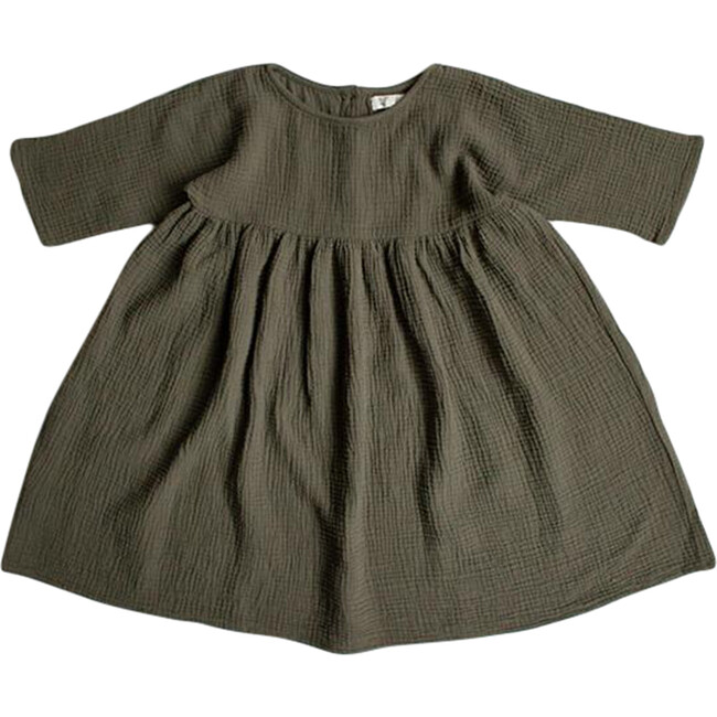 The Muslin Dress, Olive