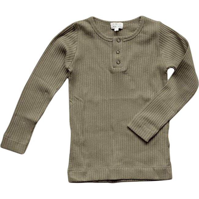 The Ribbed Top - Classic Colors, Sage