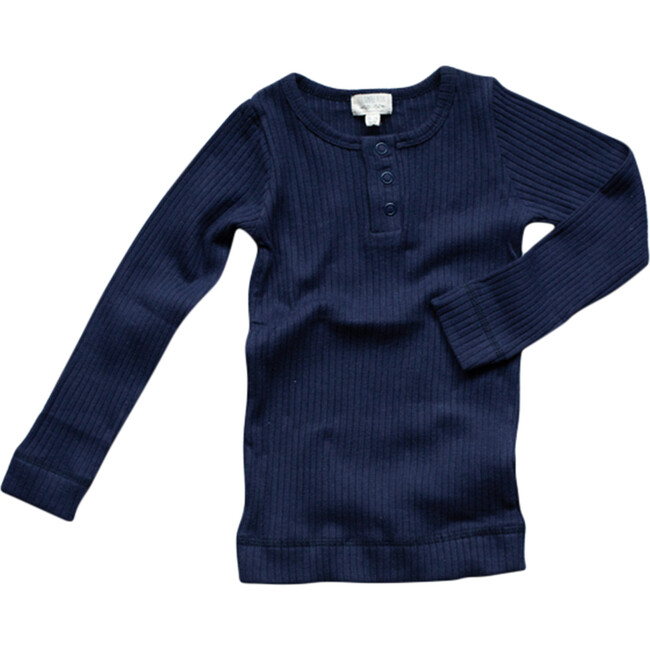 The Ribbed Top - Classic Colors, Indigo