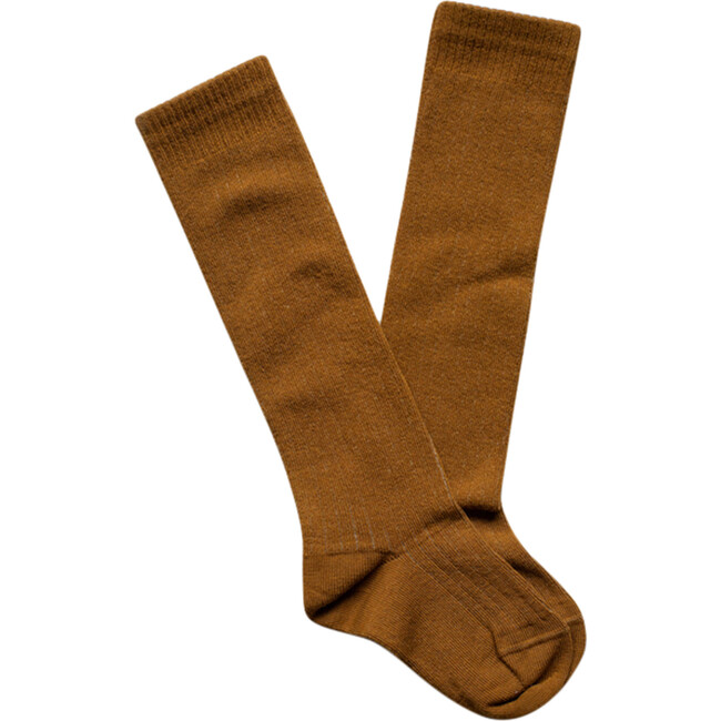 The Ribbed Sock, Bronze