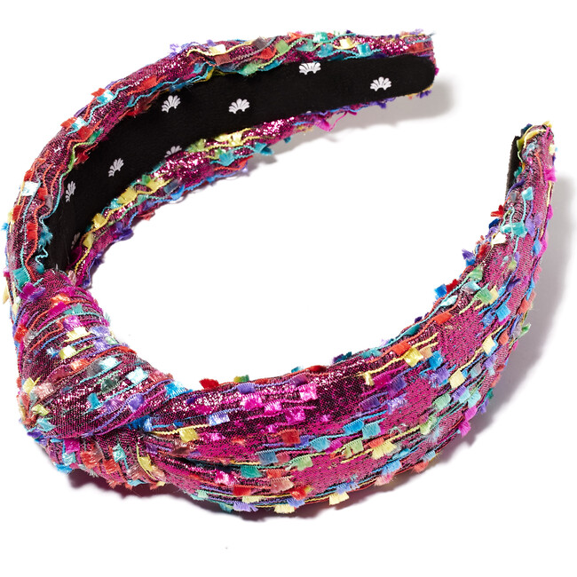 Women's Shimmer Confetti Knotted Headband