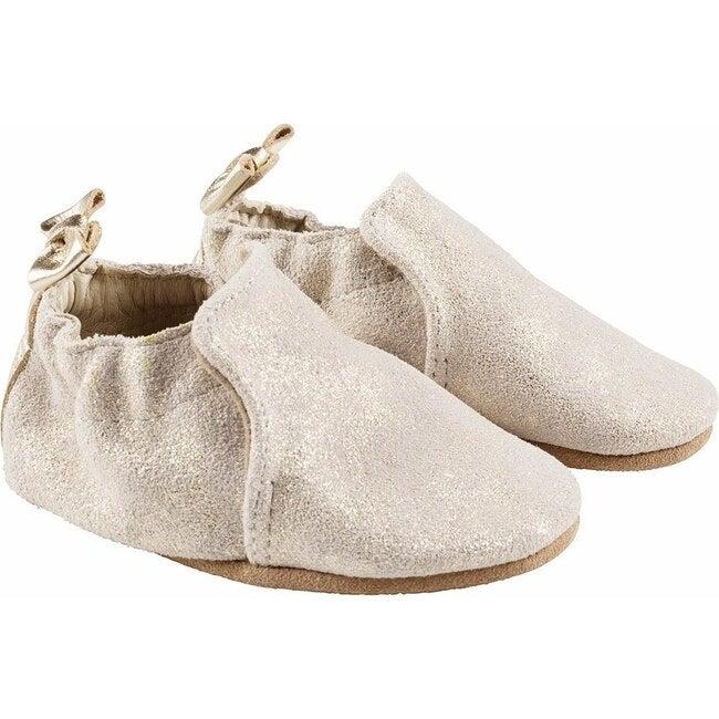 Pretty Pearl Shoe, Gold