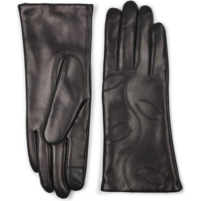 Women's Leather Gloves, Black