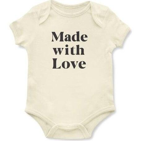 Made with Love Onesie, Cream