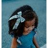Classic Bow Clip, Liberty Blue Daisies - Hair Accessories - 2