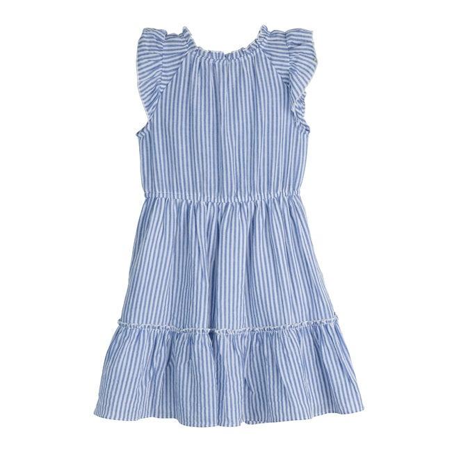 Sierra Dress, Blue Stripe