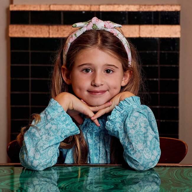 Kids Liberty Bow Tie Knotted Headband, Carolina Rose