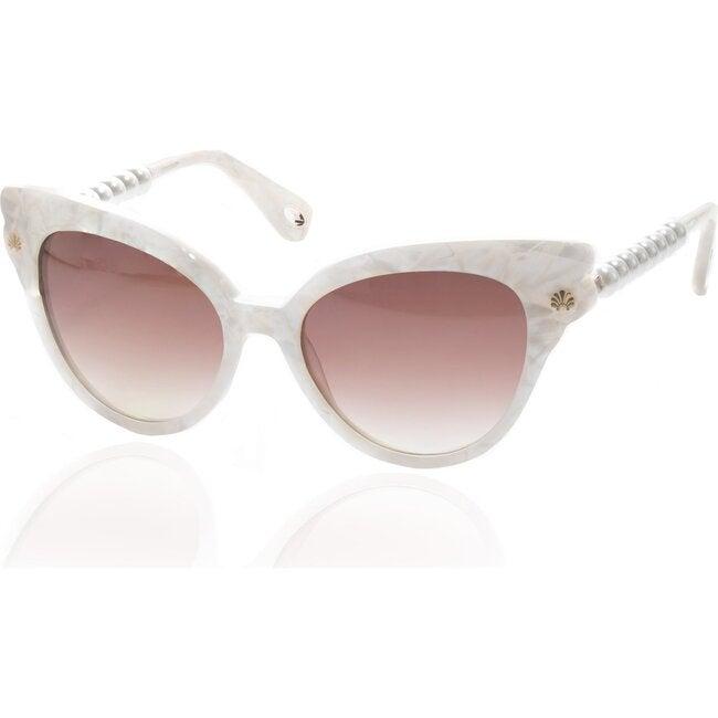 Women's Chelsea Pearl Cat-Eye Sunglasses