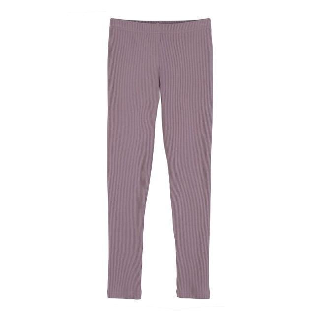 Reese Ribbed Legging, Lavender